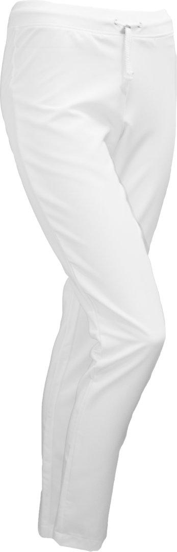 Alma housut valkoinen joustava Briima työvaatekauppa